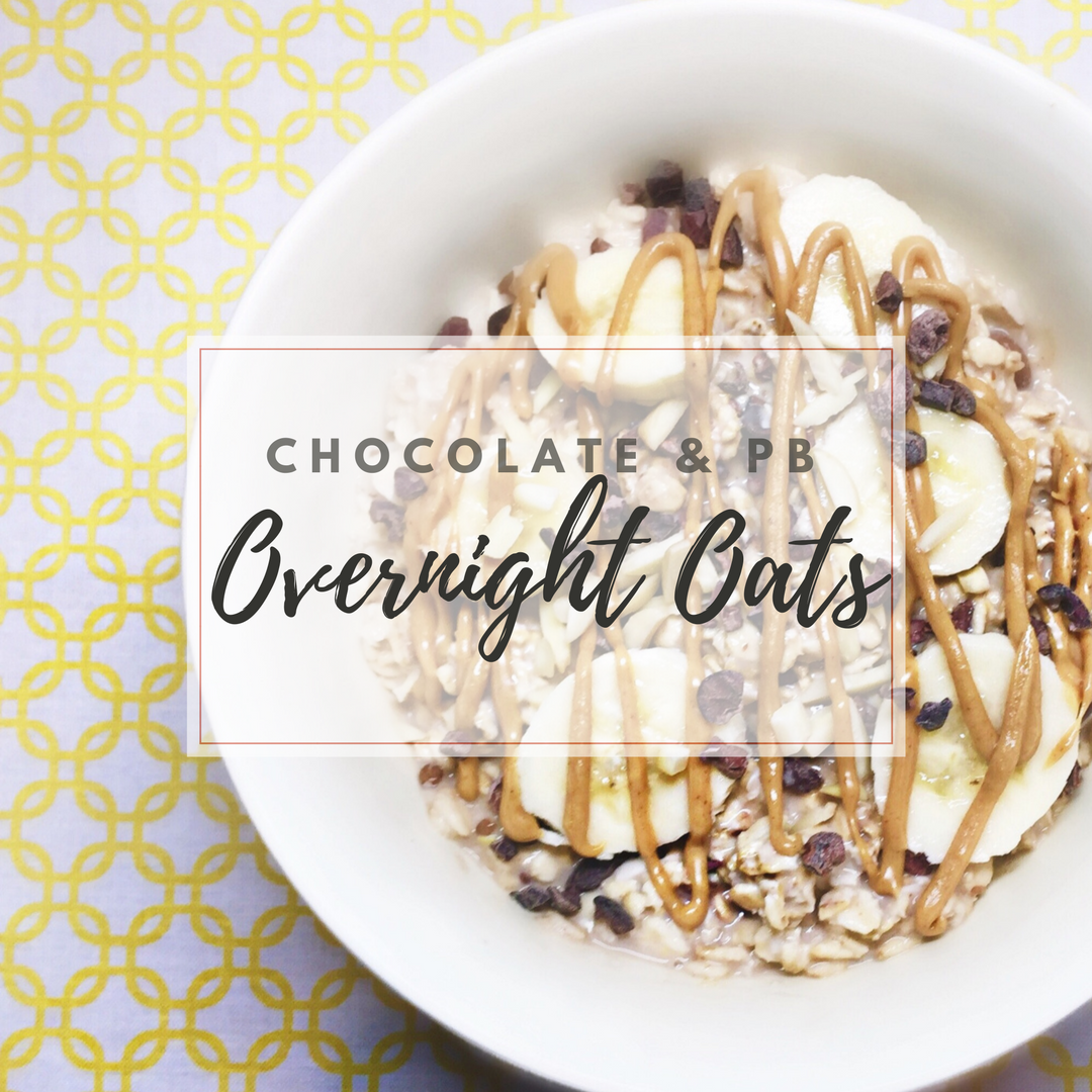 Overnight Oats: The perfect grab-n-go breakfast