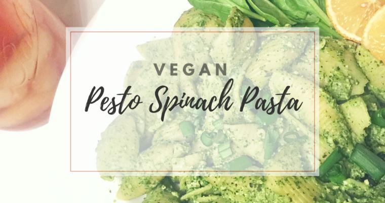 Pesto Spinach Pasta