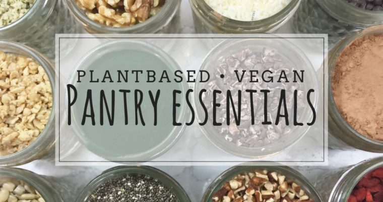 Pantry Essentials: What I Keep in My Kitchen