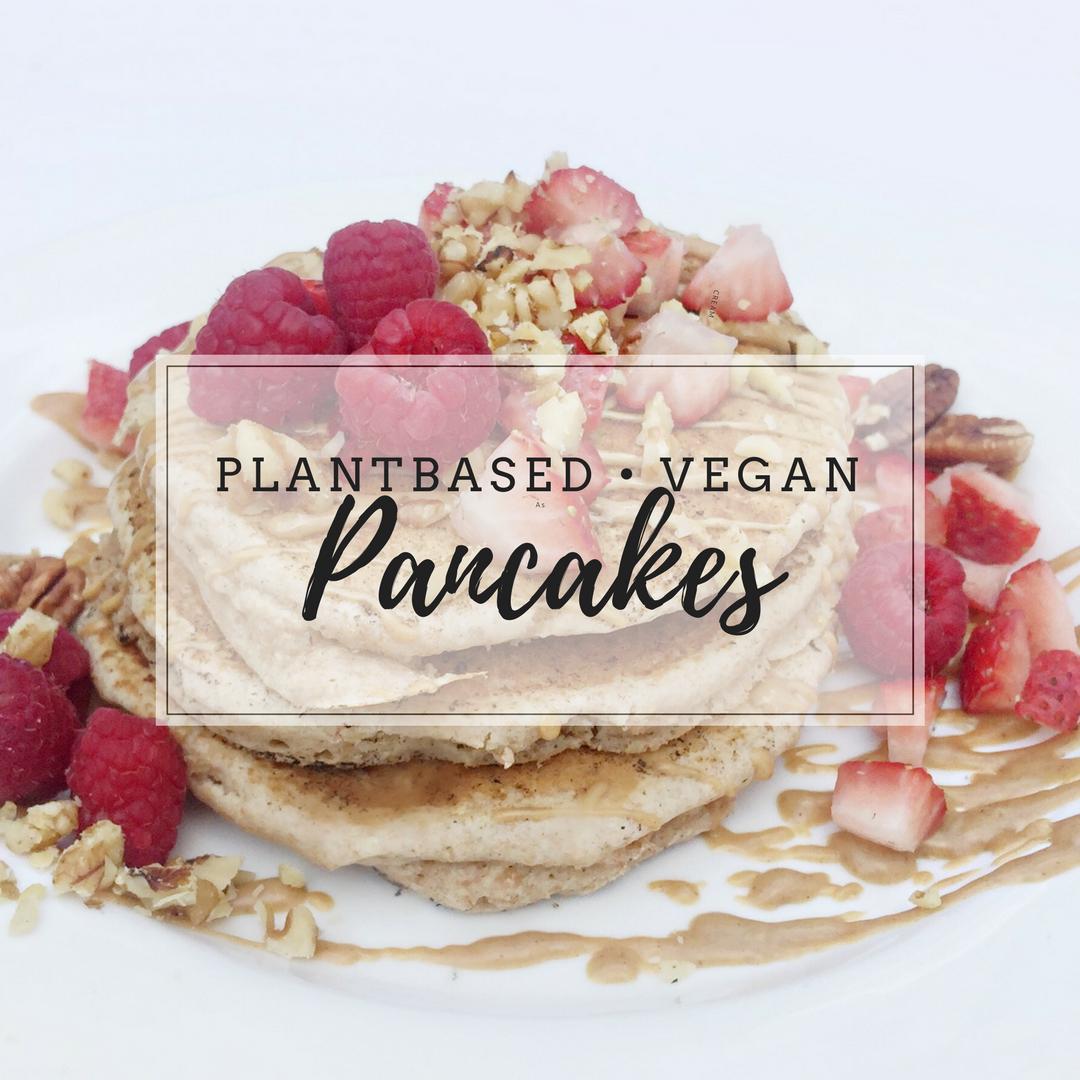 Sunday Morning Tradition: Vegan Pancakes