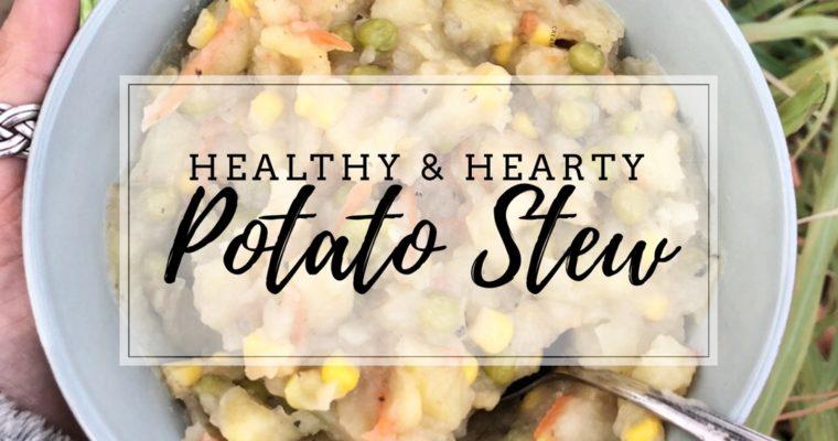 Healthy & Hearty Potato Soup