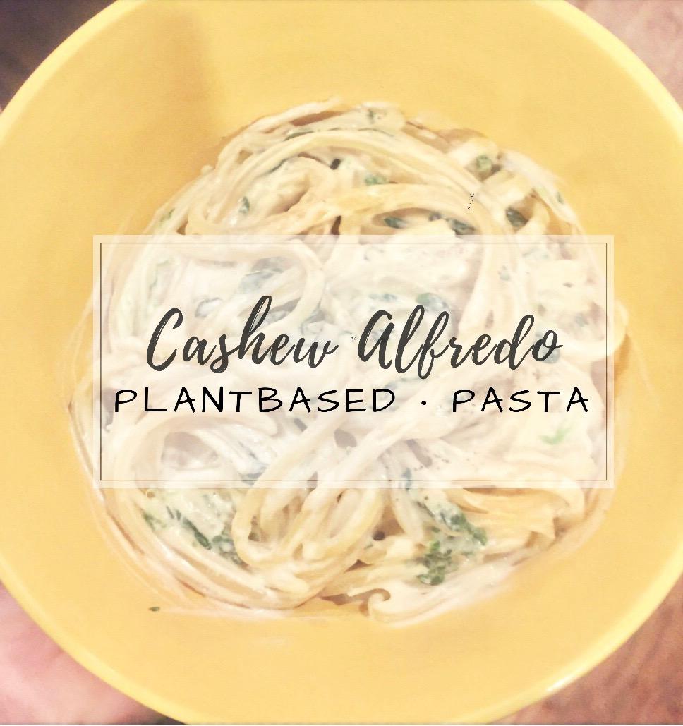 Cashew Alfredo Pasta
