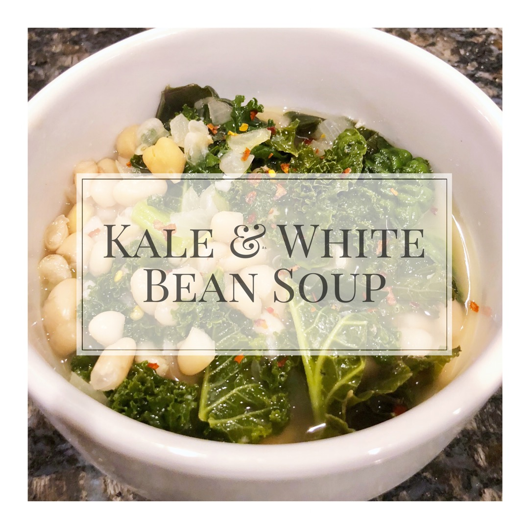 Classic Kale & White Bean Soup