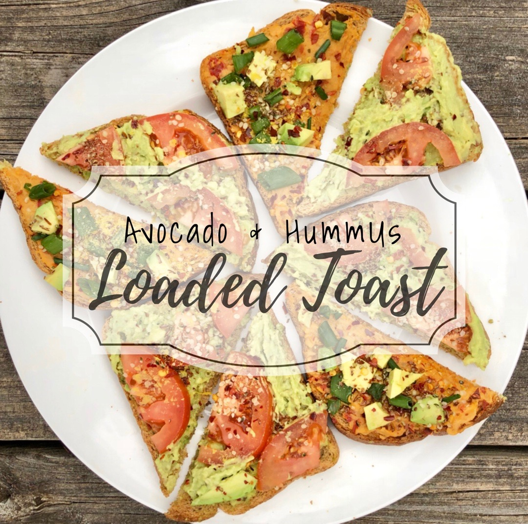 Avocado & Hummus Loaded Toast