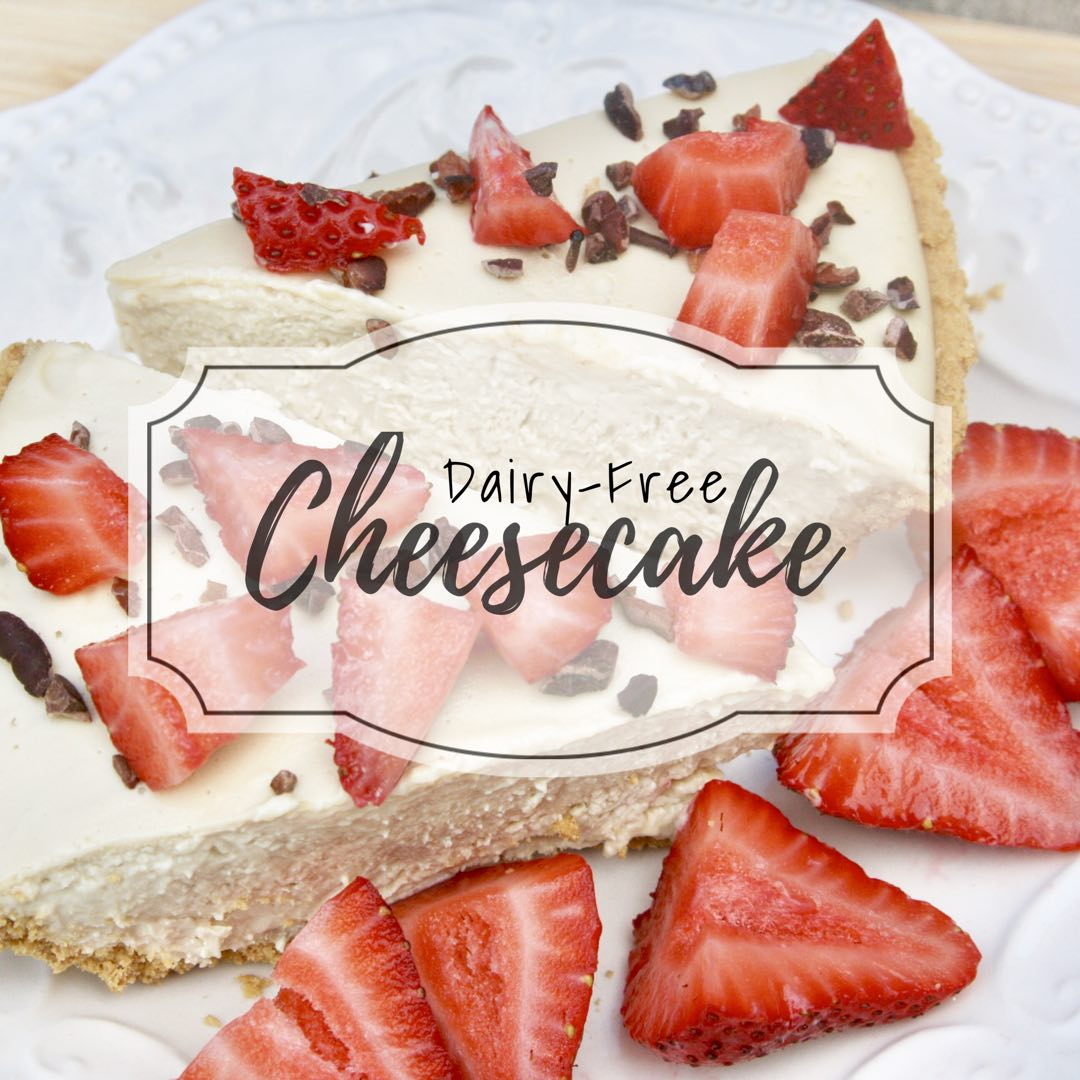CBD Dairy-Free No Bake Cheesecake